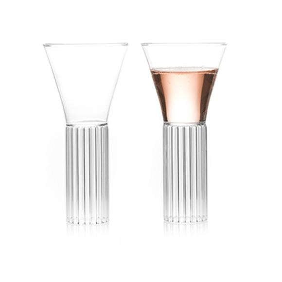 Sofia Tall Medium glass - fferrone design