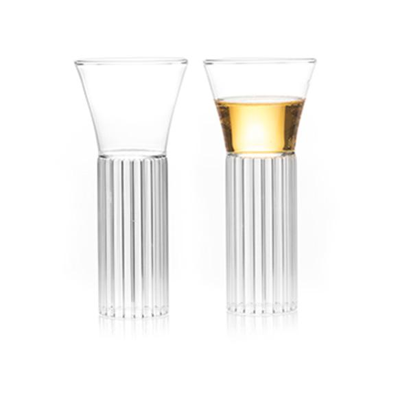 Sofia tall small glass - designer tableware fferrone