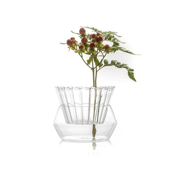 Styled Splash Vase - single flower vase
