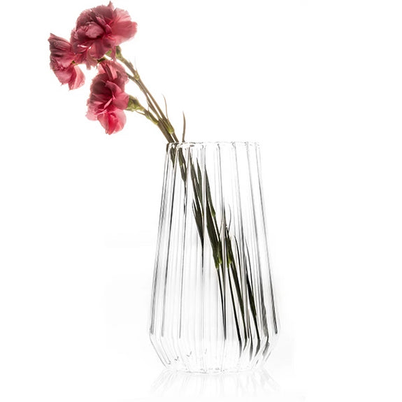 Luxury designer glass vase Stella fferrone