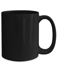 Essential Worker Black Mug