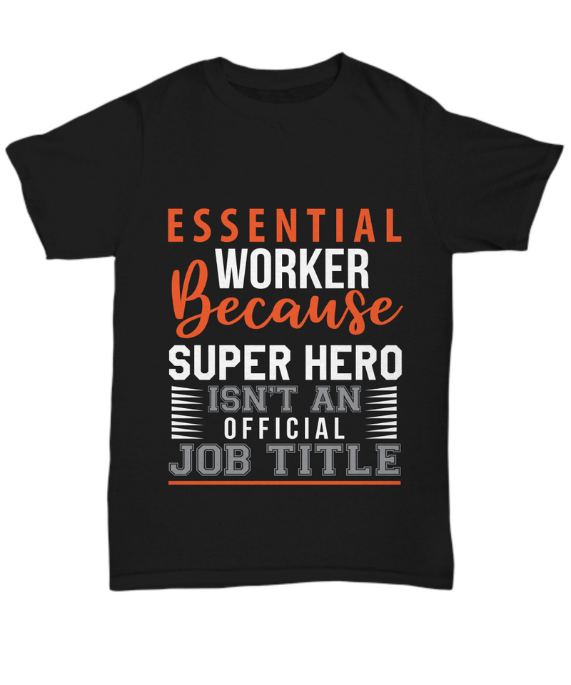 Essential Worker Super Hero