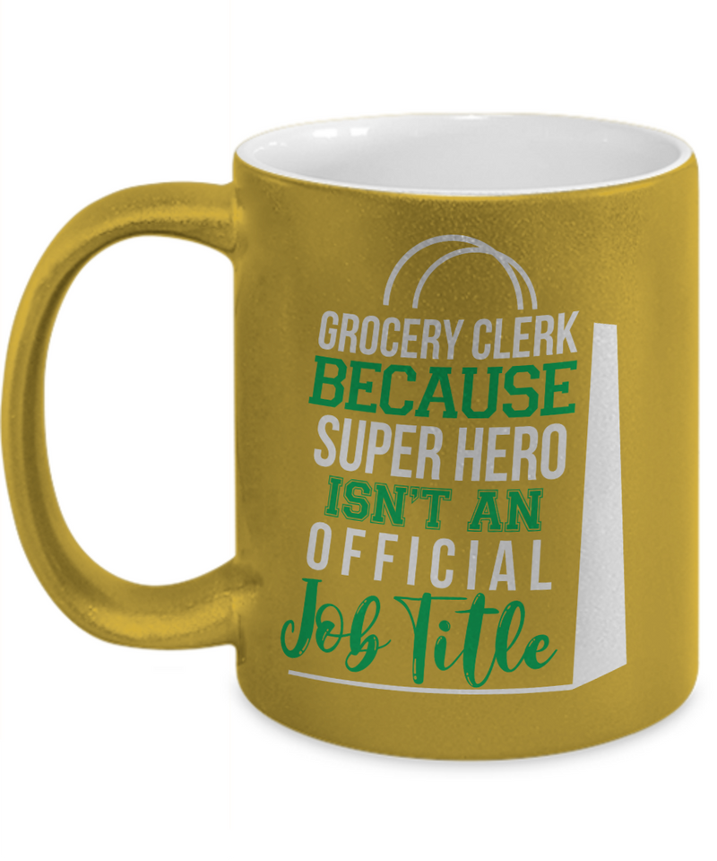 Grocery Metallic Mug