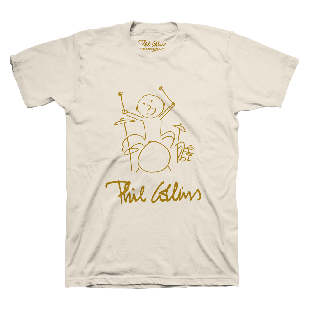 Drummer Boy Logo - Cream Men's Tee