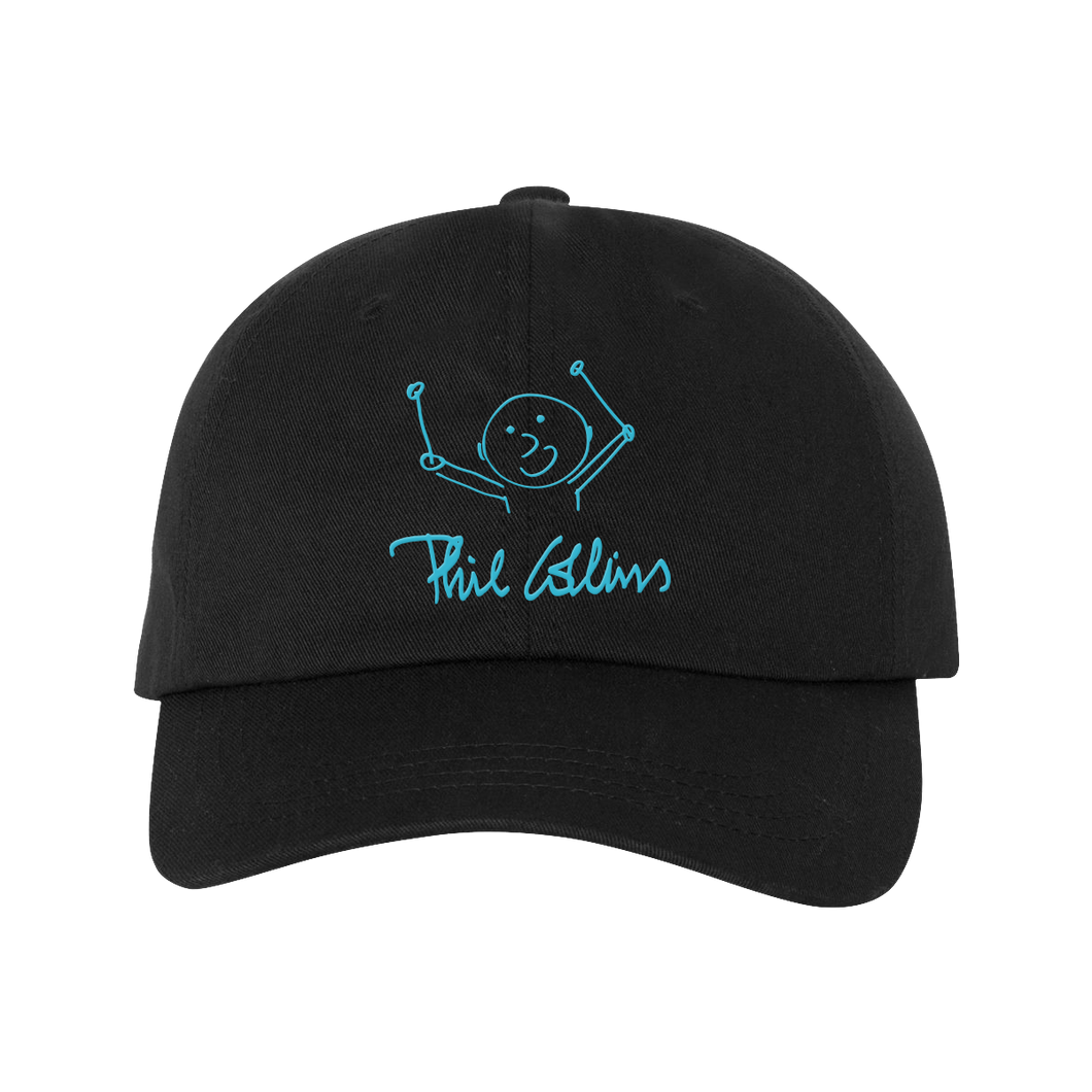 Drummer Boy Logo - Black Dad Hat