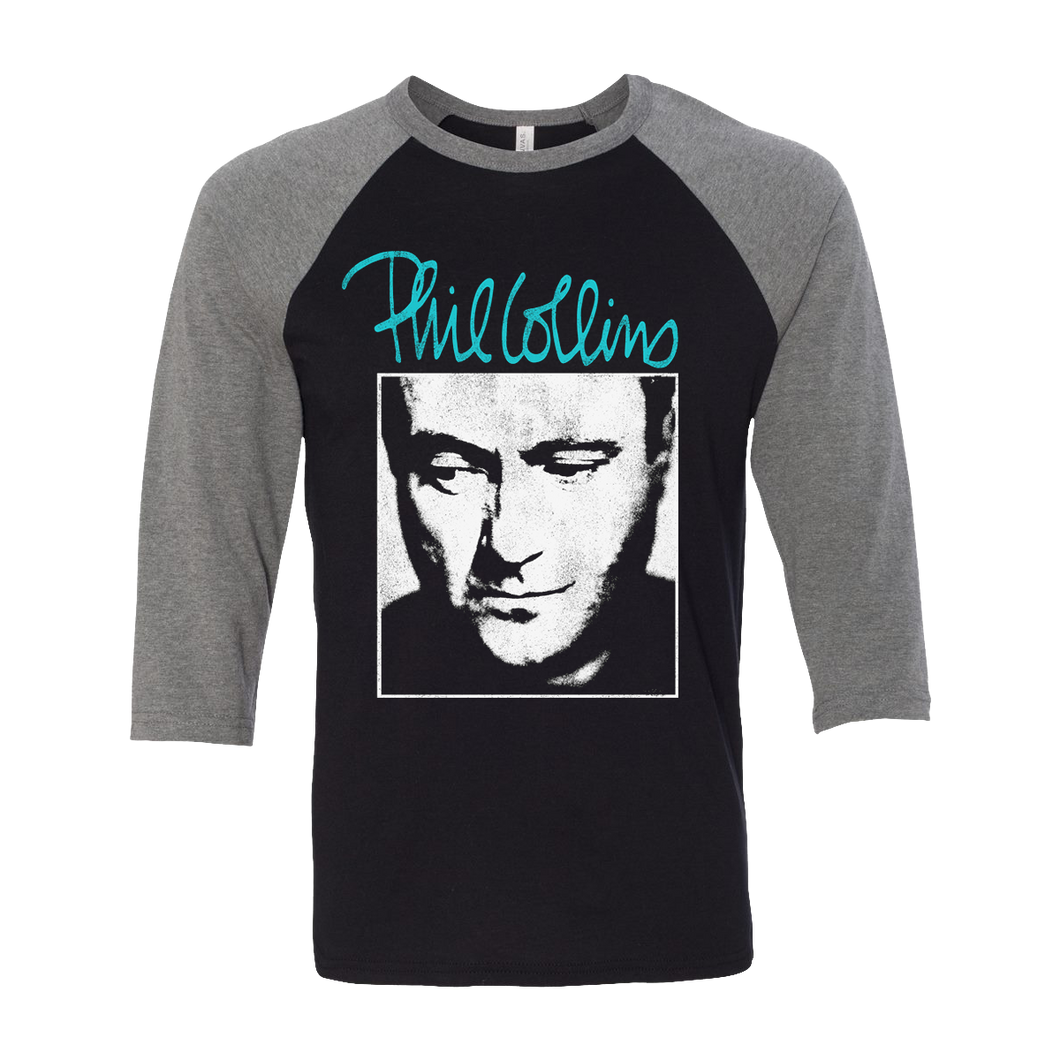 Portrait Photo - Black/Grey Raglan