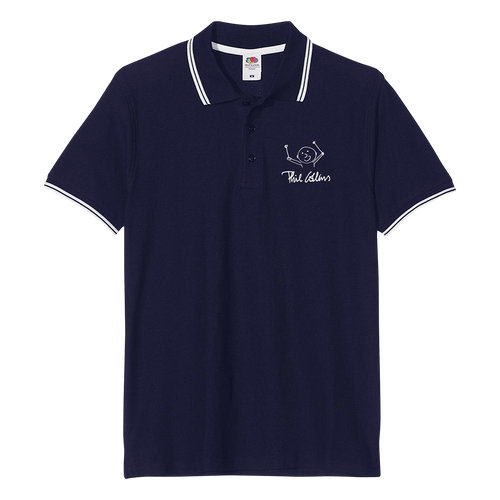 Drummer Logo UK - Navy Polo