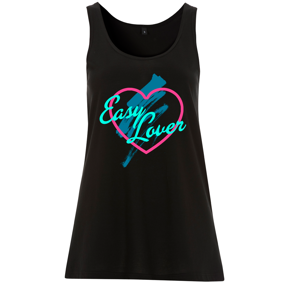 Easy Lover - Black Ladies Tank