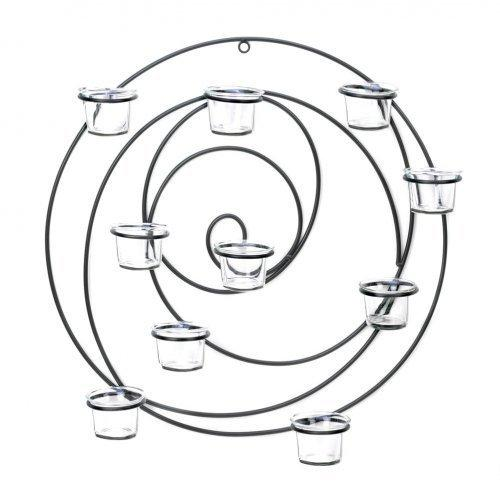 Circular Metal Wall Tealight Candleholder (pack of 1 EA)
