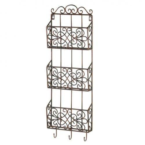 Vintage Charm Triple Wall Rack (pack of 1 EA)
