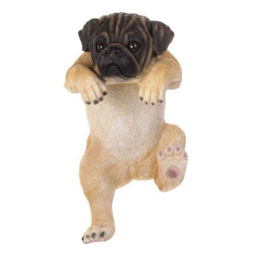 "Climbing Pug ""daisy"" Decor (pack of 1 EA)"