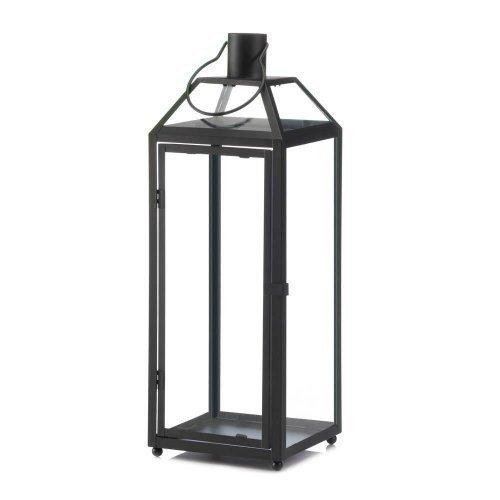 Midtown Large Black Lantern (pack of 1 EA)