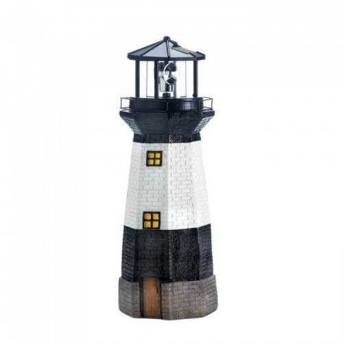 Spinning Solar Powered Lighthouse (pack of 1 EA)