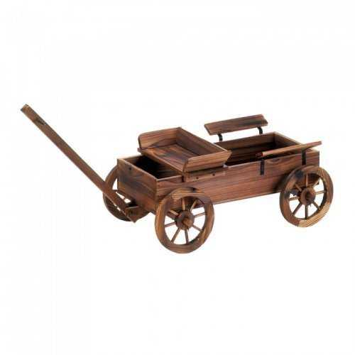 Old World Planter Wagon (pack of 1 EA)