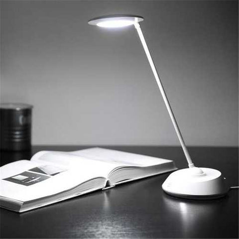 5W Rechargeable Dimmable Touch Sensor LED 360 Degree Table Light Desk Reading Lamp