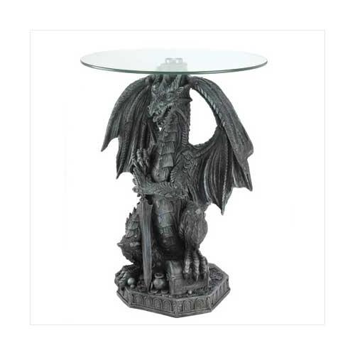 Guarding Dragon Accent Table (pack of 1 EA)