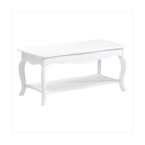 White Elegant Coffee Table (pack of 1 EA)
