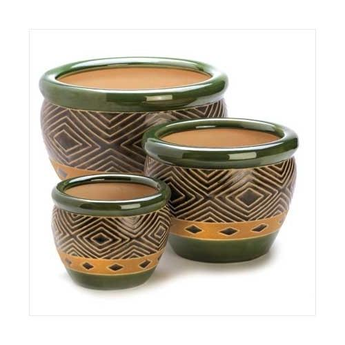 Jade Planters Trio (pack of 1 SET)