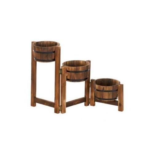 Country Barrels Planter Trio (pack of 1 EA)