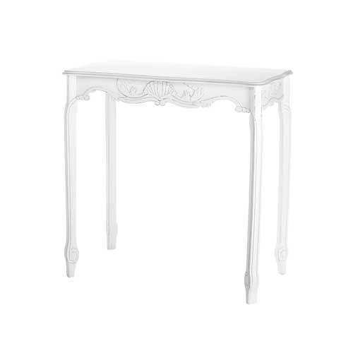 Distressed White Hallway Table (pack of 1 EA)