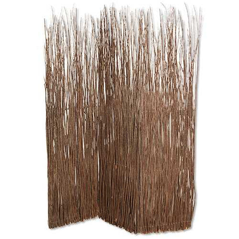 "84"" X 63"" Brown Willow Adirondack Screen"