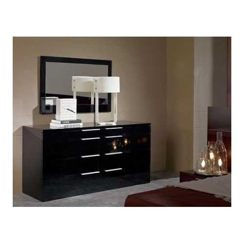 Night Modern Black Dresser