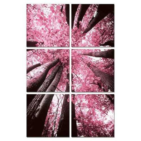 Blossom Trees 6-Panel Photo On Canvas