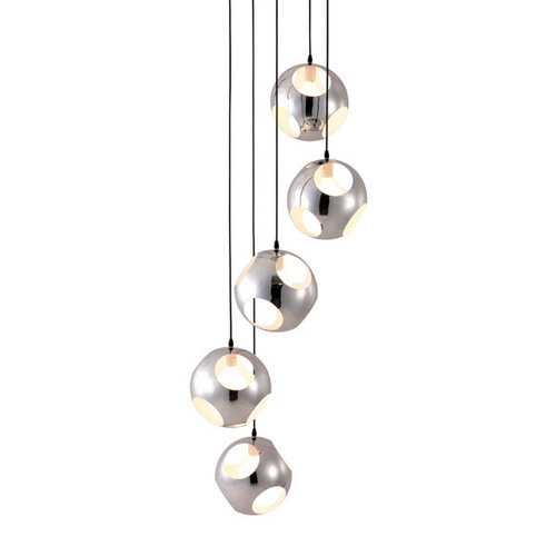 Shower Ceiling Lamp - Chrome