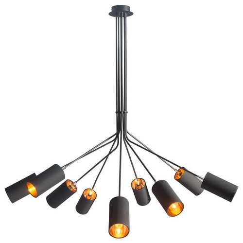 Ceiling Lamp - Fabric Metal