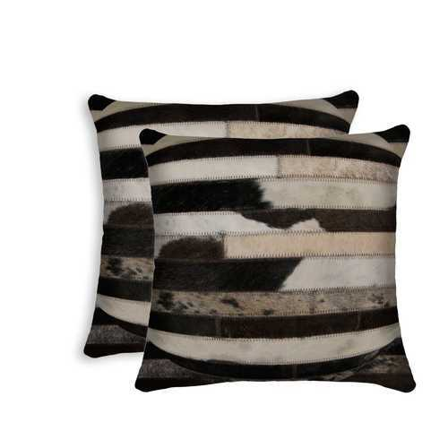 "2-Pack Pillow 18"" X 18"" - Tricolor"