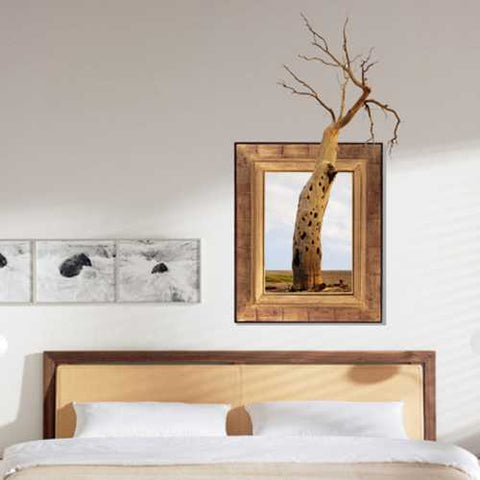 3D Tree Wall Decals Removable Tree Trunk Wall Stickers Home Wall Decor