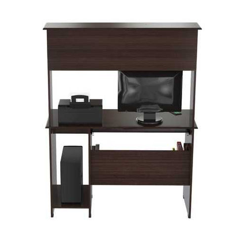 Computer Work center with Hutch - Melamine /Engineered wood