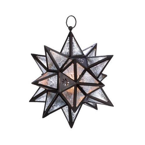 Moroccan Hanging Star Lantern (pack of 1 EA)
