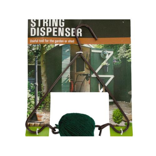 Hanging Metal Garden Twine Dispenser ( Case of 18 )