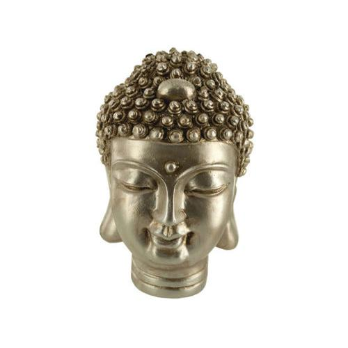 Gold Buddha Head Statue ( Case of 8 )