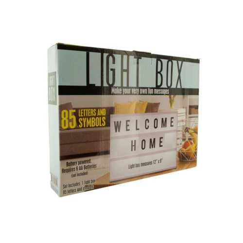 Light Box ( Case of 6 )