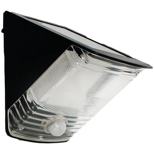 Maxsa Innovations Solar-powered Motion-activated Wedge Light (black) (pack of 1 Ea)
