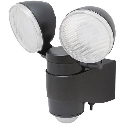 Maxsa Innovations Battery-powered Motion-activated Dual-head Led Security Spotlight (pack of 1 Ea)