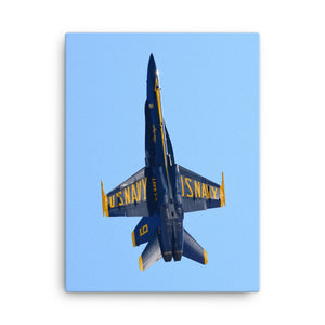Going Up! Blue Angels #6 2018 (Canvas Print)