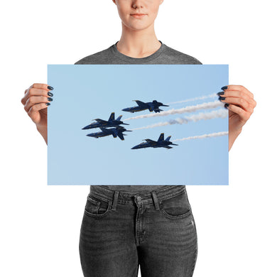 Blue Angels - Double Farvel (Poster)