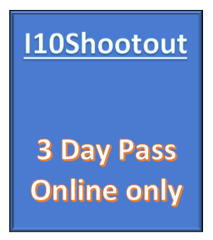 3 Day Tournament Pass