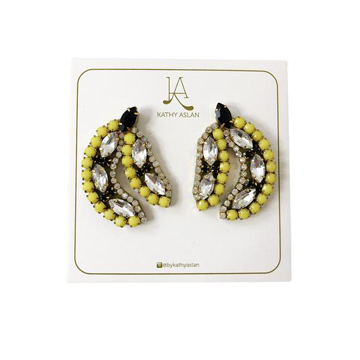 Mini Tropical Banana Earrings