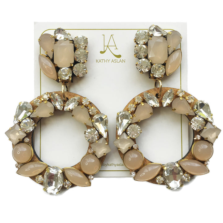 Aro Nude Earrings