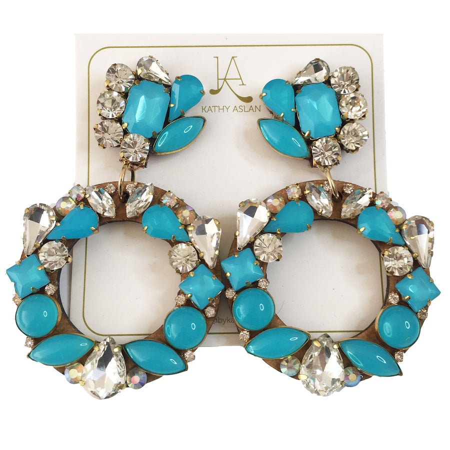 Aro Turquoise Earrings