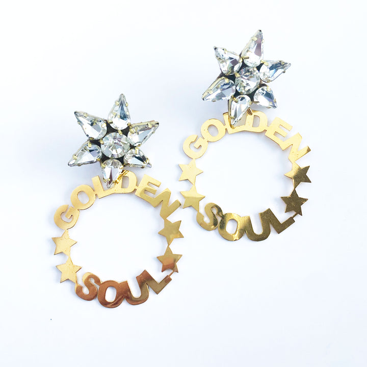 Golden Soul Earrings