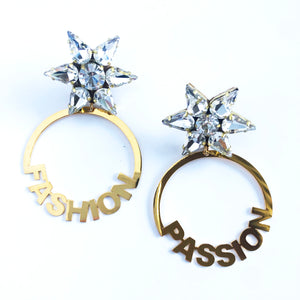 Fashion Passion Golden Earrings