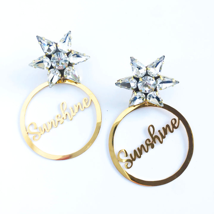 Sunshine Gold Earrings
