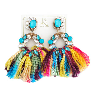Candy Aqua Blue Earrings