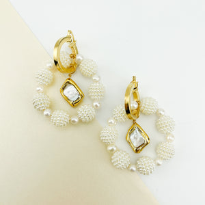 Pearly Mixable Earrings