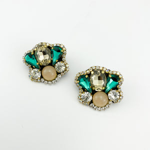 Mini BKA Emerald Green Earrings